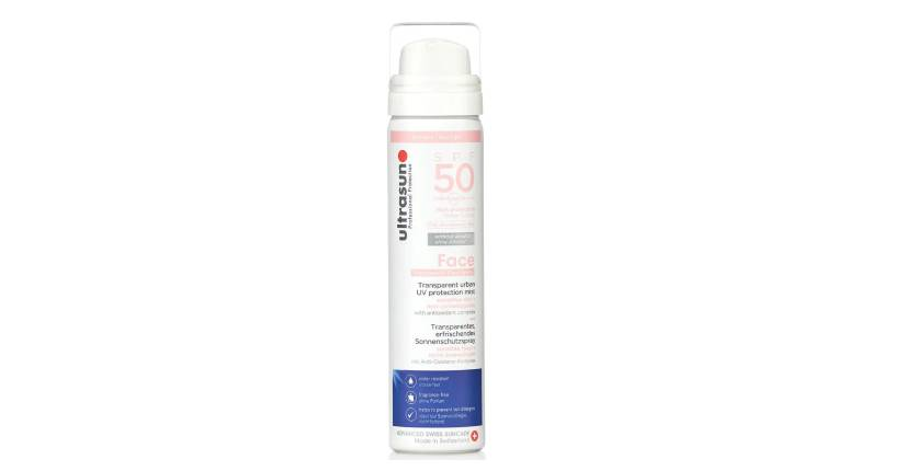 ultrasun SPF50 UV Face & Scalp Mist