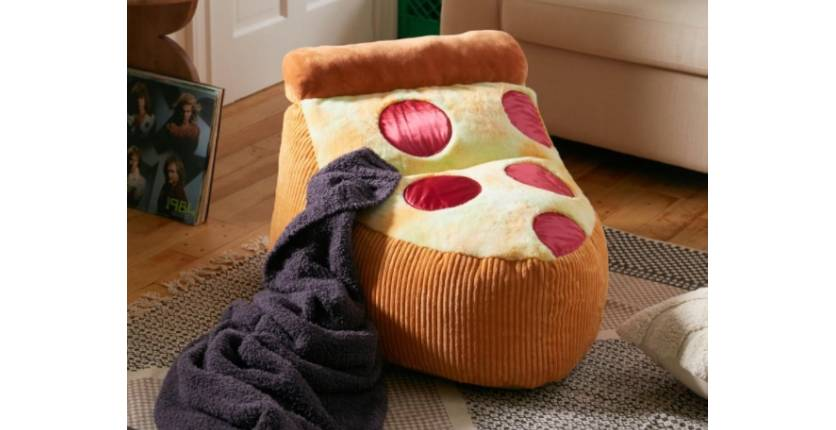 Urban Outfitters Pizza Bean Bag Chair