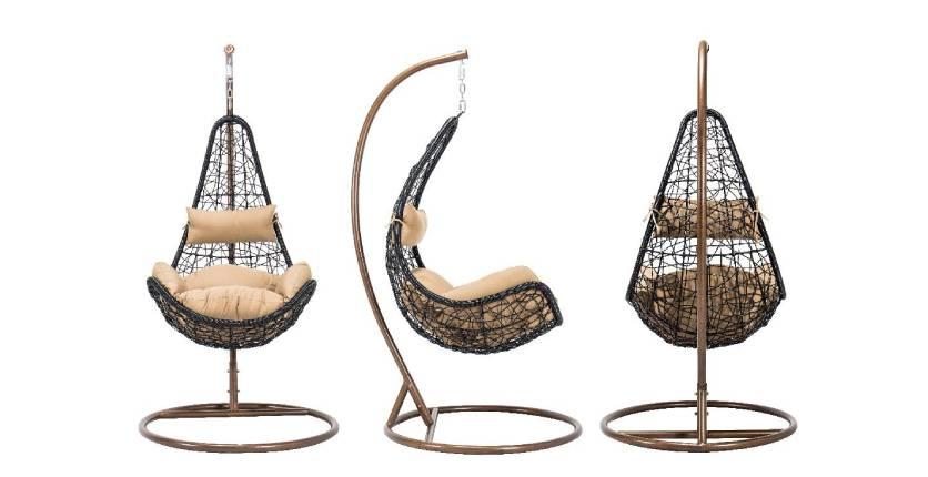 Teak & Barrel Sleepy Weekend Swing Chair