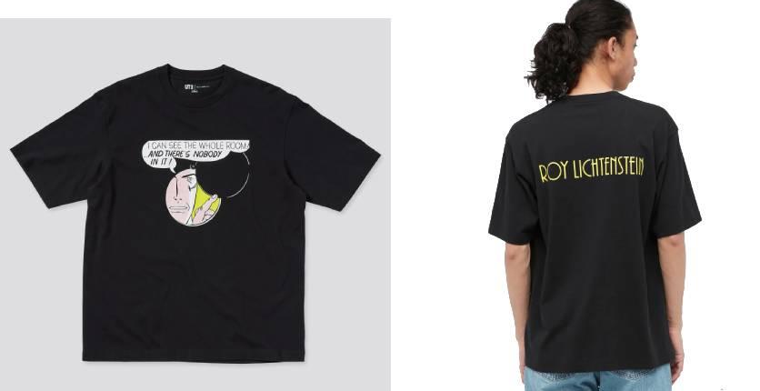 Uniqlo Roy Lichtenstein UT short-sleeve graphic T-shirt