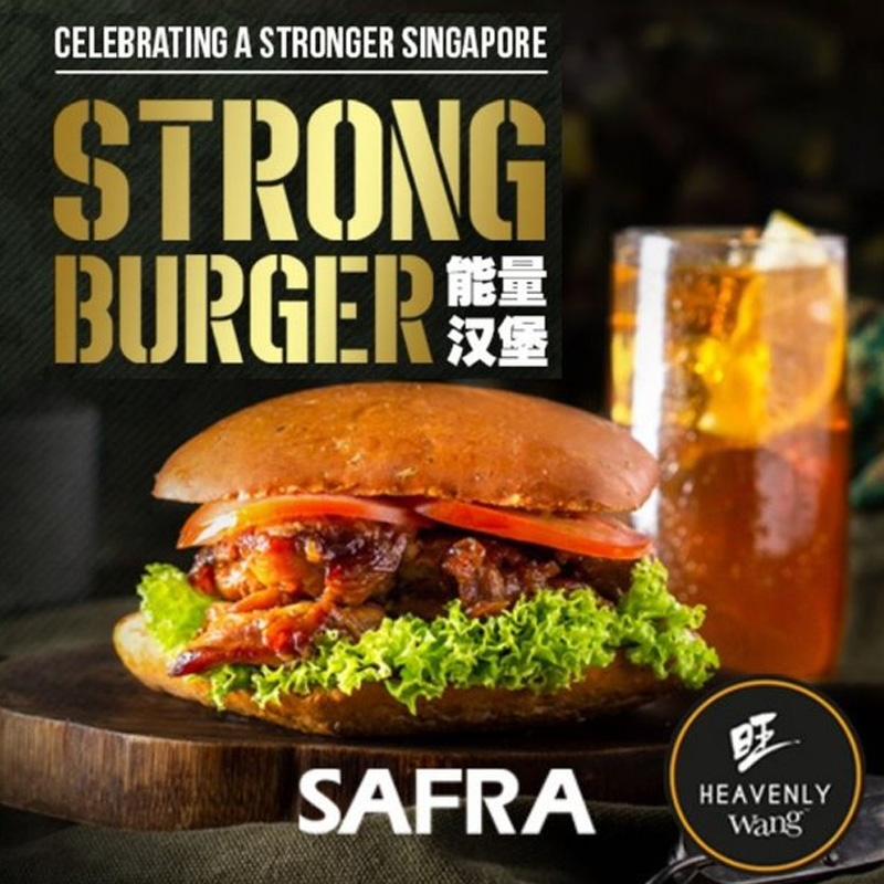 SAF Day Deals: 11B holders enjoy 10% off Strong Burger Meal (Heavenly Wang)