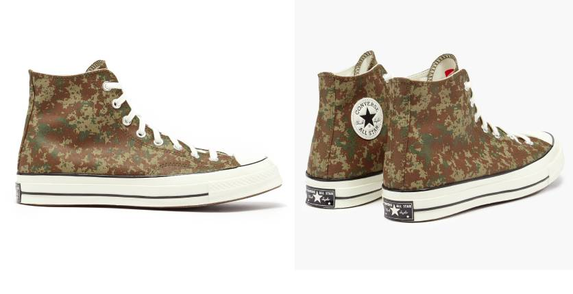 Converse Chuck 70 camouflage-print canvas canvas trainers