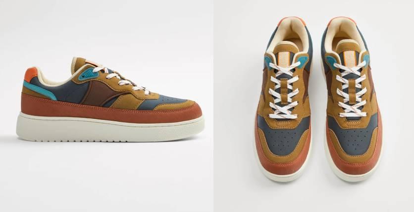 Zara Chunky retro sneakers