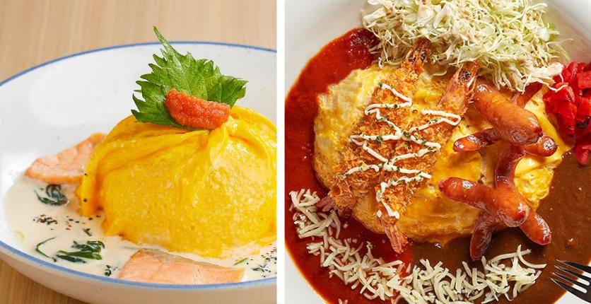 omurice tamago-en monster curry