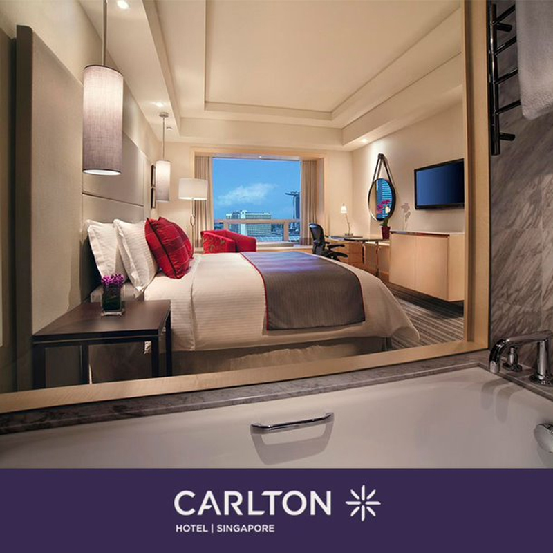 Carlton Hotel Singapore - 15% Off Selected Staycation Packages