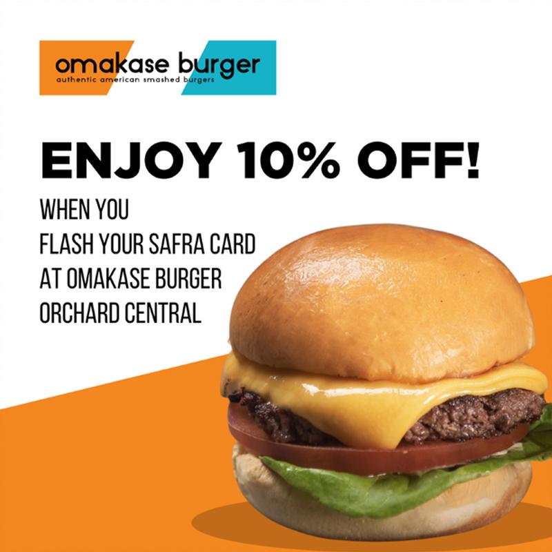 Omakase Burger - 10% Off Total Bill